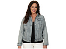 DKNY Jeans Plus Size Denim Jacket