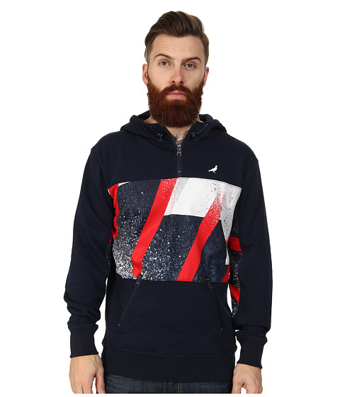Staple - Grand Slam Hoodie (Navy) Men's Sweatshirt
