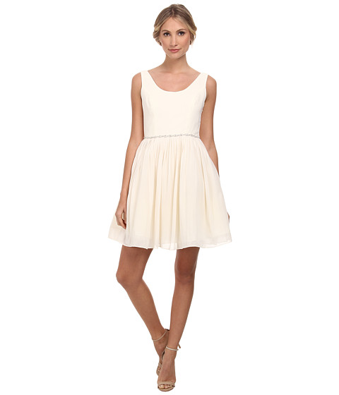 Alejandra Sky - Danette Sleeveless Dress (Champagne) Women