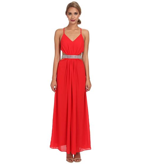 Alejandra Sky - Flora Halter Dress (Red) Women's Dress