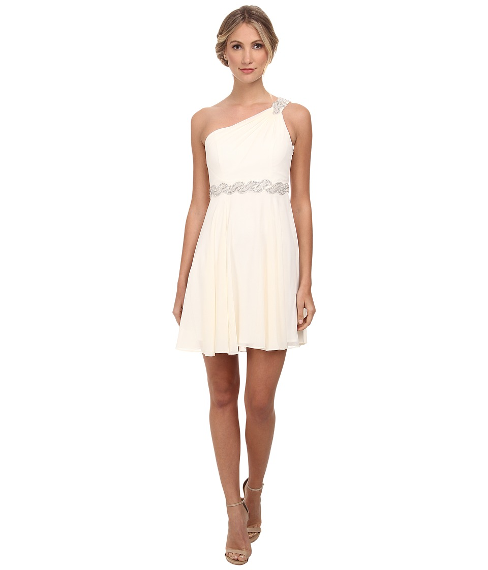 Alejandra Sky - Fanetta One-Shoulder Dress (Ivory) Women's Dress