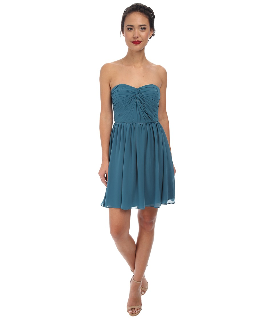Alejandra Sky - Fae Strapless Dress (Teal) Women's Dress