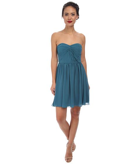 Alejandra Sky - Fae Strapless Dress (Teal) Women's Dress