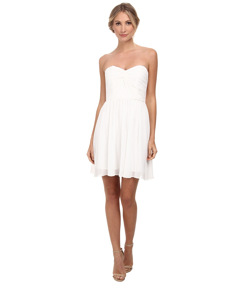 Alejandra Sky - Fae Strapless Dress (White) Women's Dress