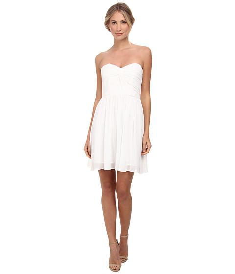 Alejandra Sky - Fae Strapless Dress (White) Women's Dress