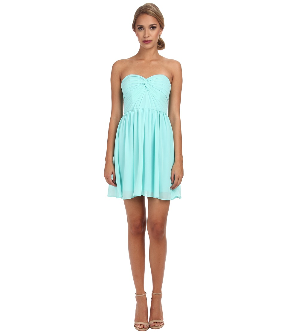 Alejandra Sky Fae Strapless Dress (Mint) Women