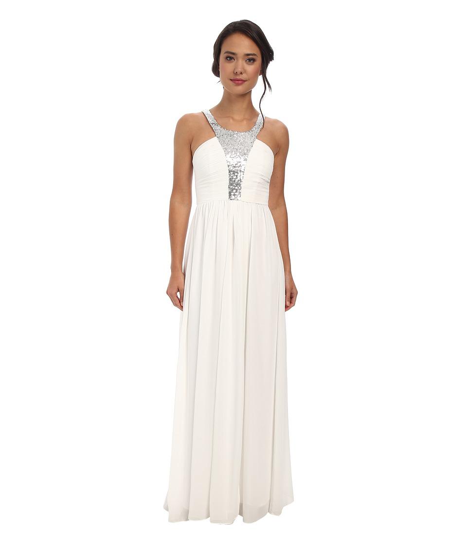 Alejandra Sky - Fortune Halter Dress (Blush) Women