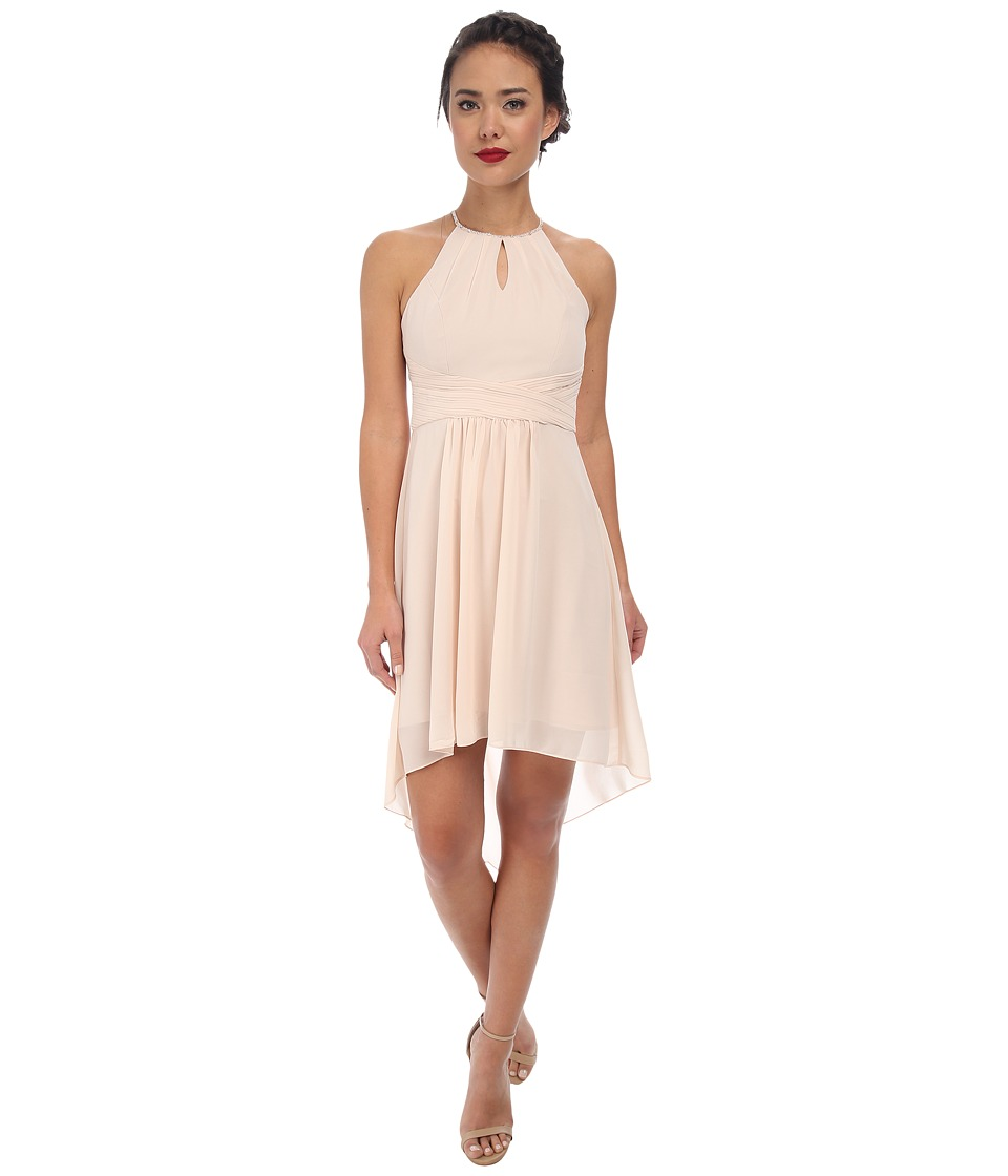 Alejandra Sky - Farren High-Low Dress (Champagne) Women