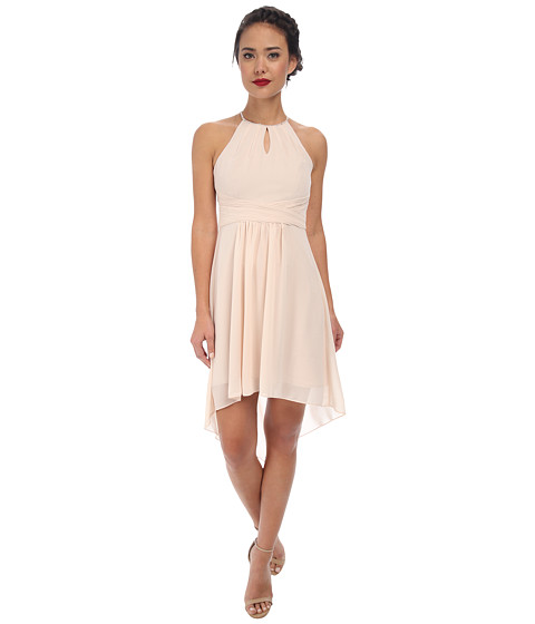 Alejandra Sky - Farren High-Low Dress (Champagne) Women's Dress