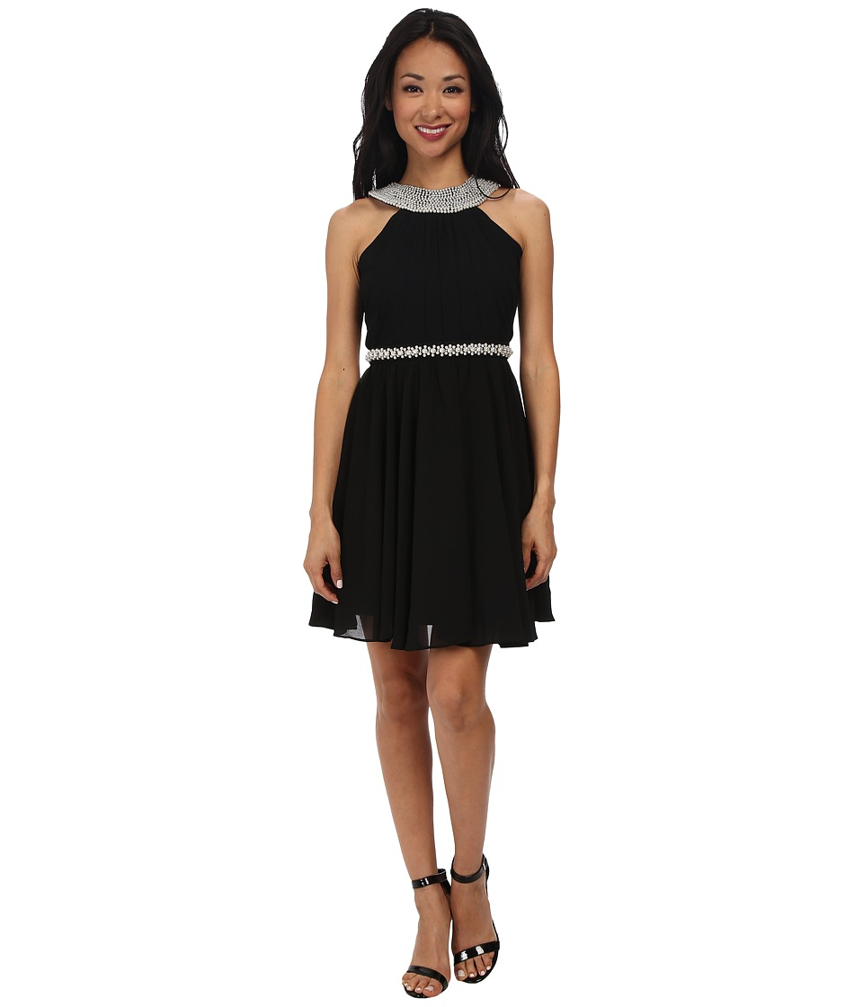 Alejandra Sky - Laurel Halter Dress (Black) Women's Dress