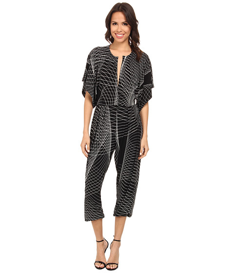 KAMALIKULTURE by Norma Kamali - Rectangle Jog Jumpsuit (Electric Sound) Women
