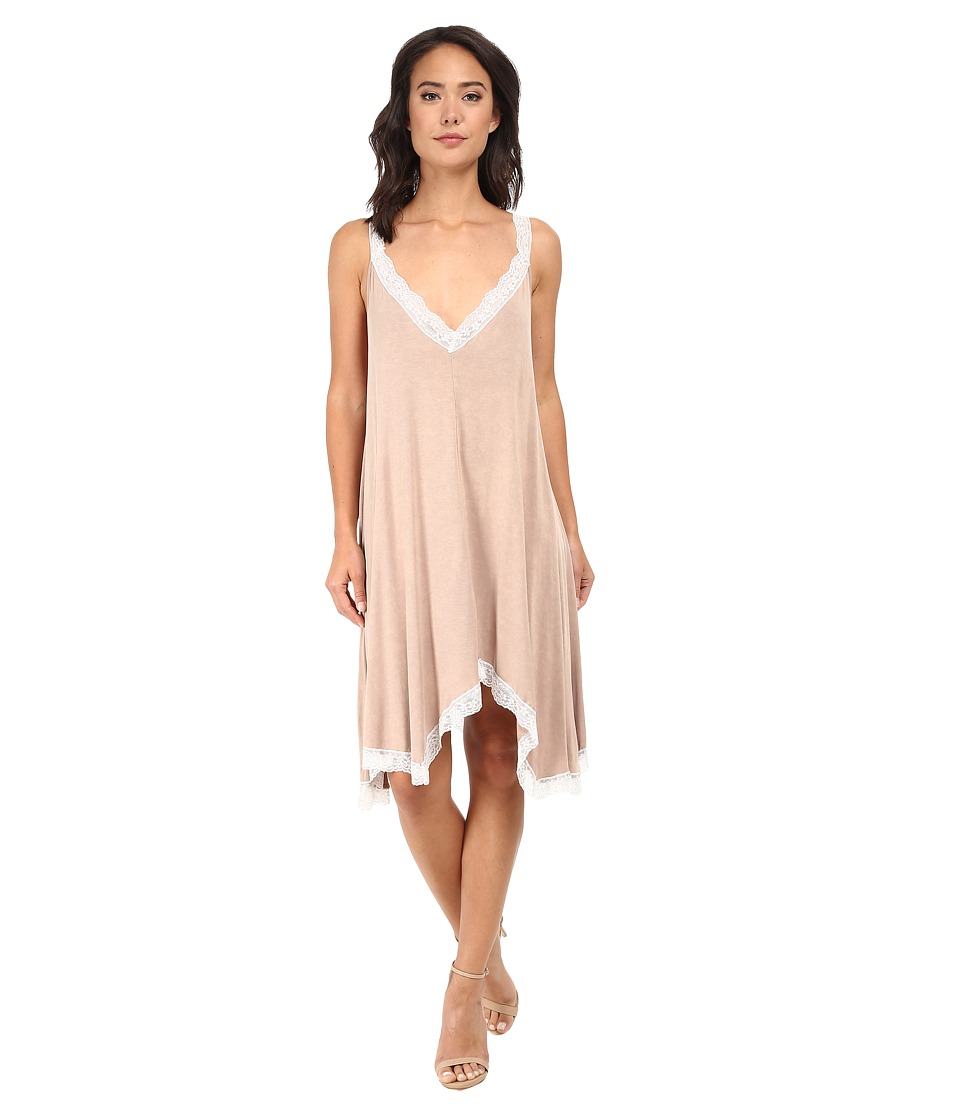 Culture Phit - Amanda Lace Dress (Beige) Women's Dress