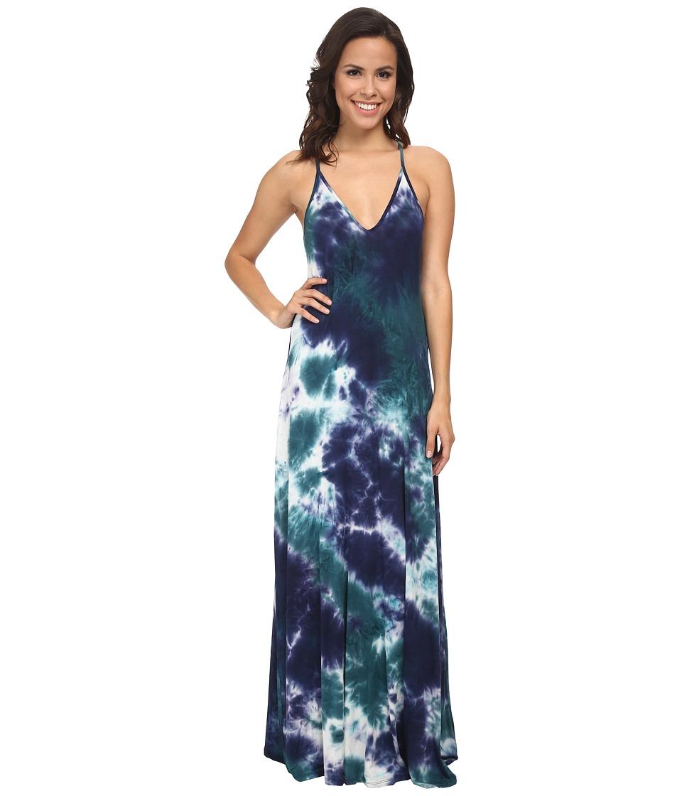 Culture Phit - Alexandrea Maxi Dress (Teal/Navy) Women