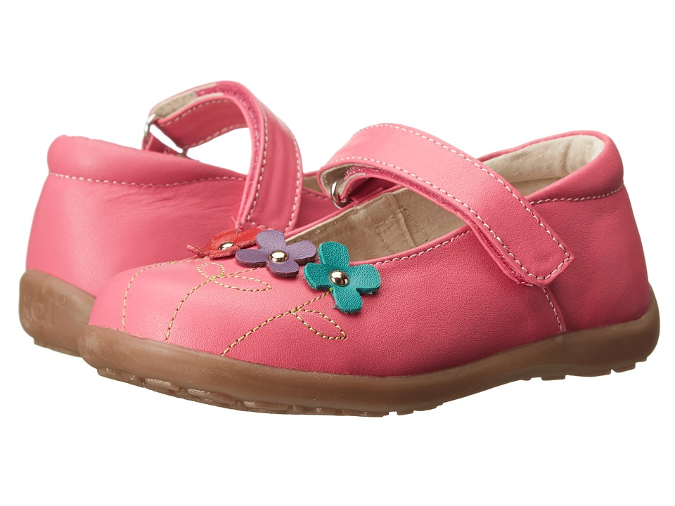 See Kai Run Kids - Jacqueline (Toddler/Little Kid) (Hot Pink) Girls Shoes