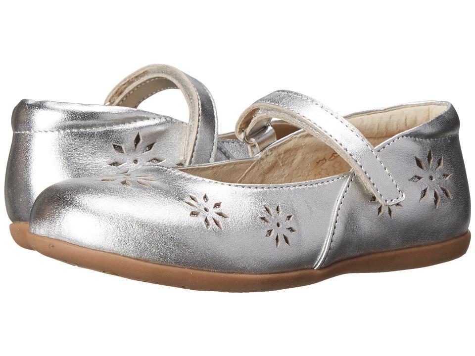 See Kai Run Kids - Winnie (Toddler/Little Kid) (Silver) Girl's Shoes