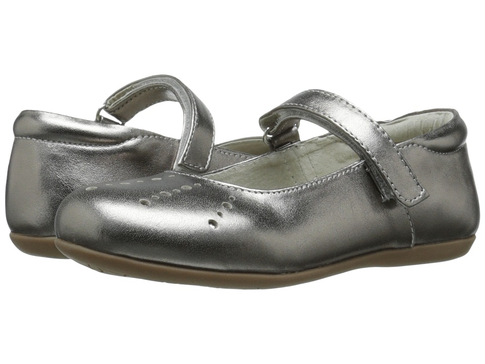 See Kai Run Kids - Marta (Toddler/Little Kid) (Pewter) Girl's Shoes