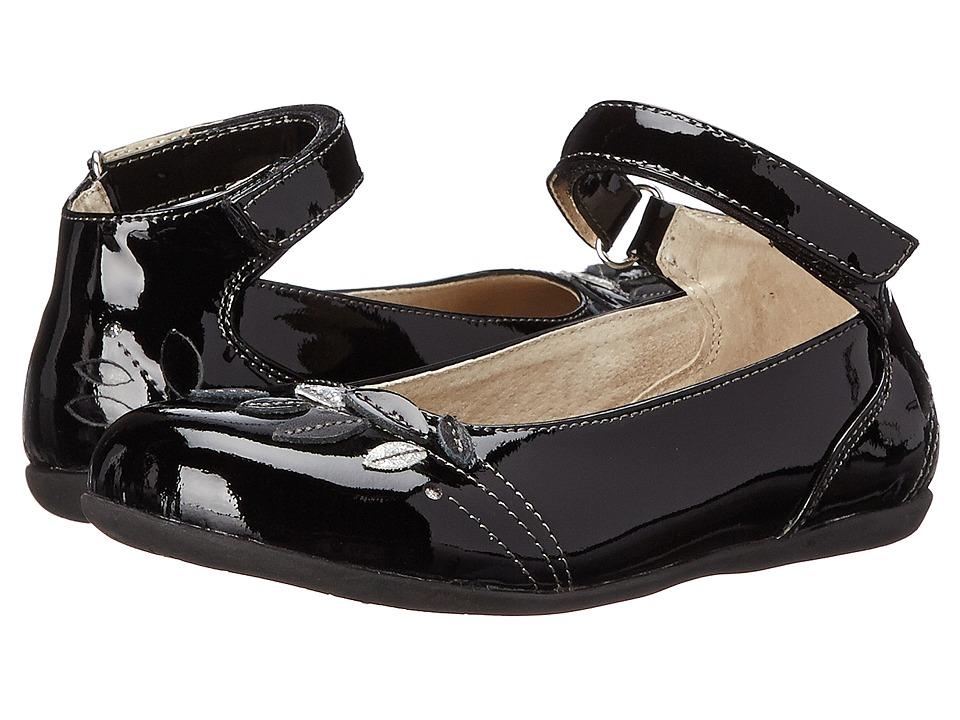 See Kai Run Kids - Waverly (Toddler/Little Kid) (Black Patent) Girl's Shoes