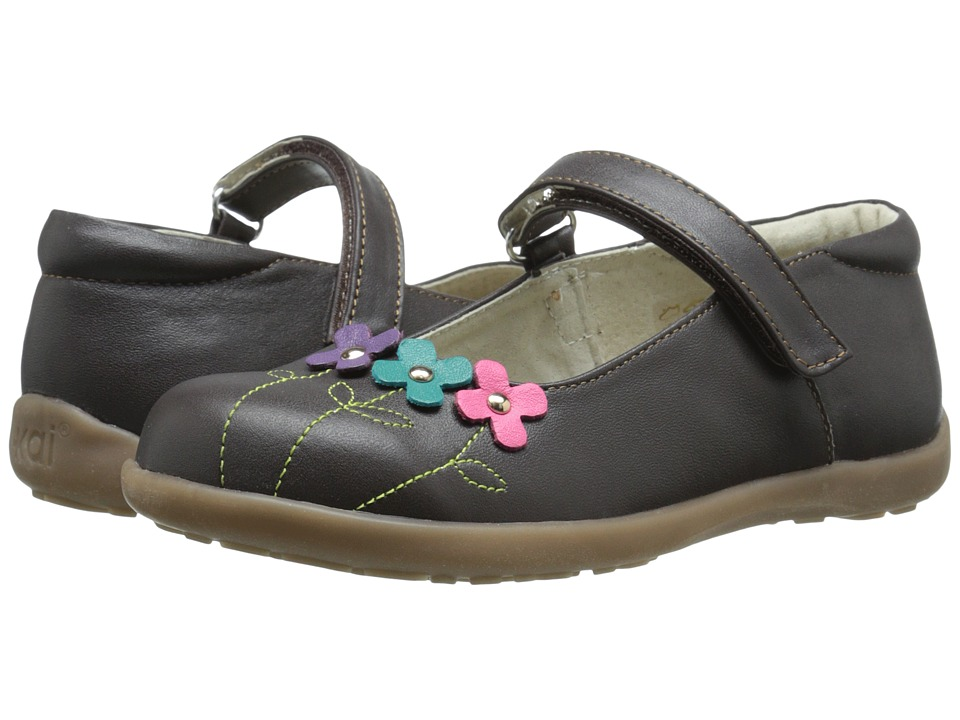 See Kai Run Kids - Jacqueline (Toddler/Little Kid) (Brown) Girls Shoes
