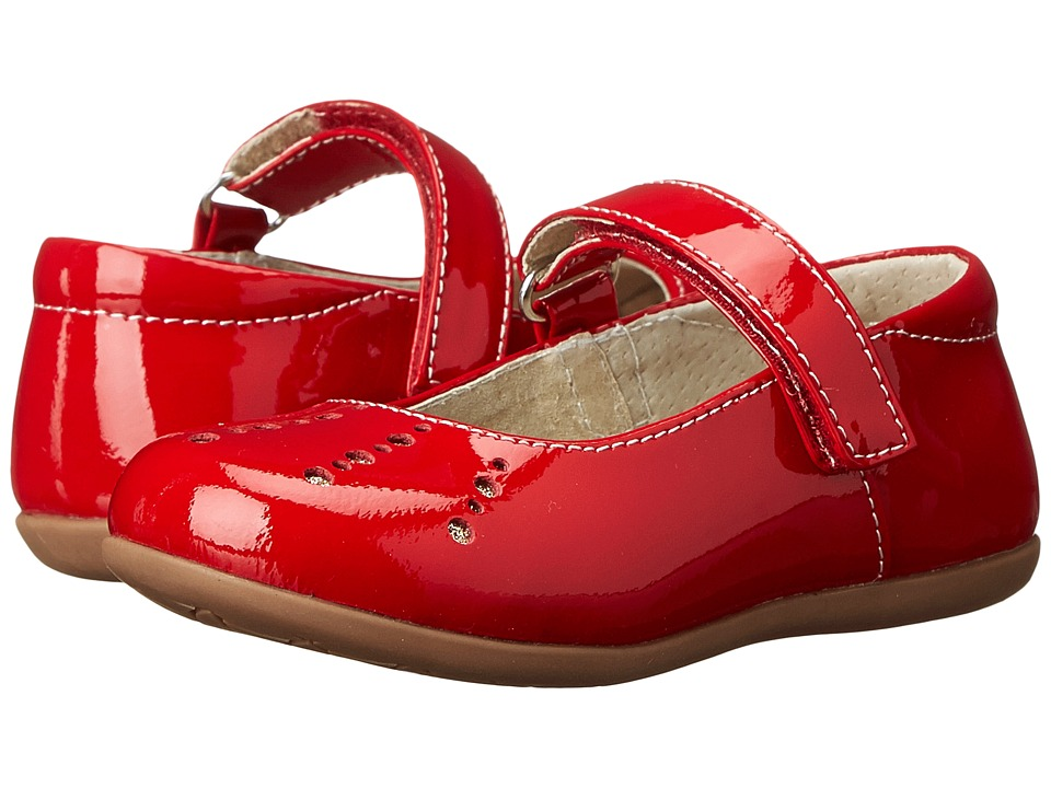 See Kai Run Kids - Marta (Toddler/Little Kid) (Red Patent) Girl's Shoes
