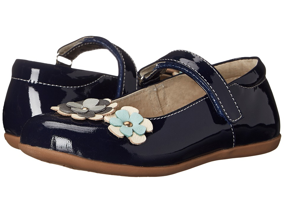 See Kai Run Kids - Mai'a (Toddler/Little Kid) (Navy Patent) Girl's Shoes