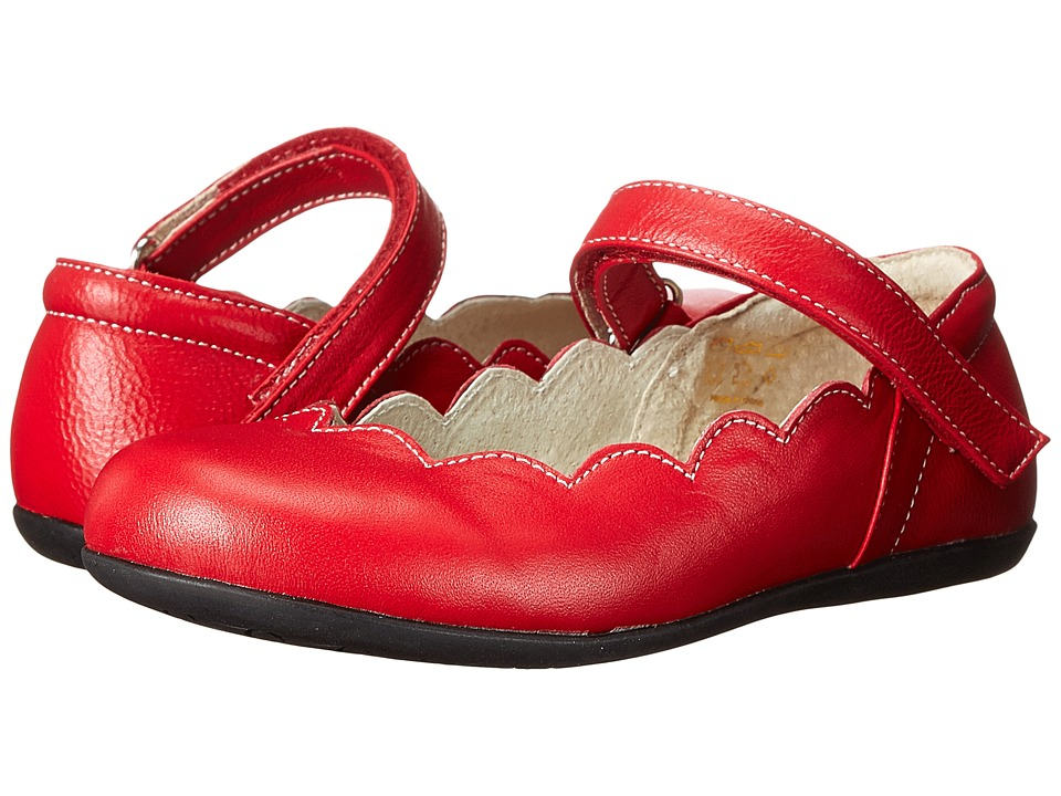 See Kai Run Kids - Savannah (Toddler/Little Kid) (Red) Girl's Shoes