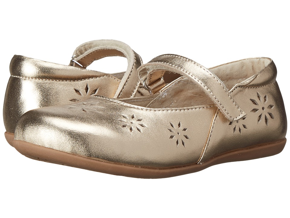 See Kai Run Kids - Winnie (Toddler/Little Kid) (Gold) Girl's Shoes