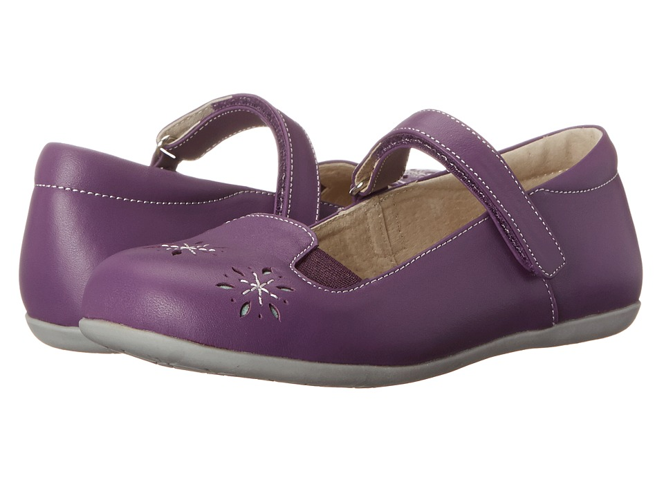 See Kai Run Kids - Anna (Toddler/Little Kid) (Purple) Girls Shoes