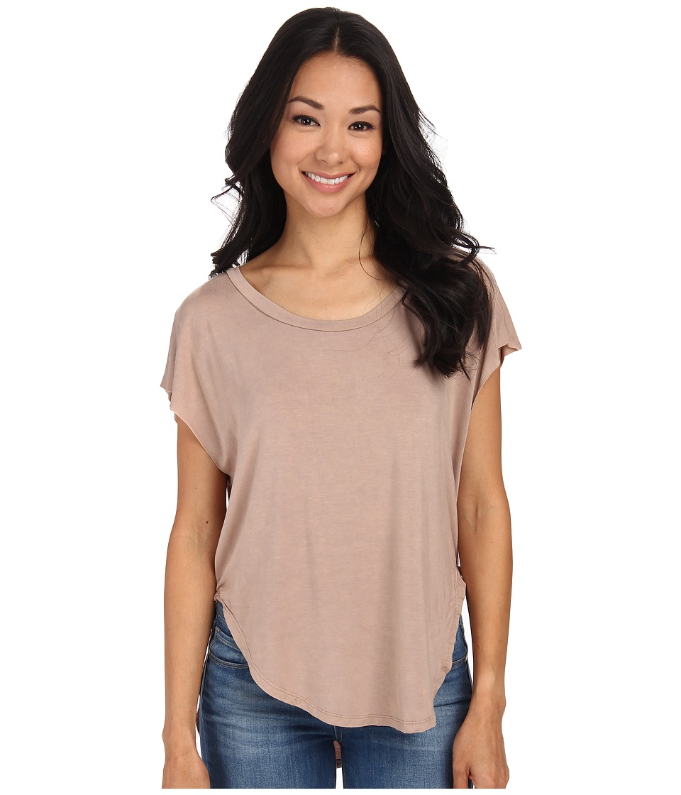 Culture Phit - Audra Top (Beige) Women's Clothing
