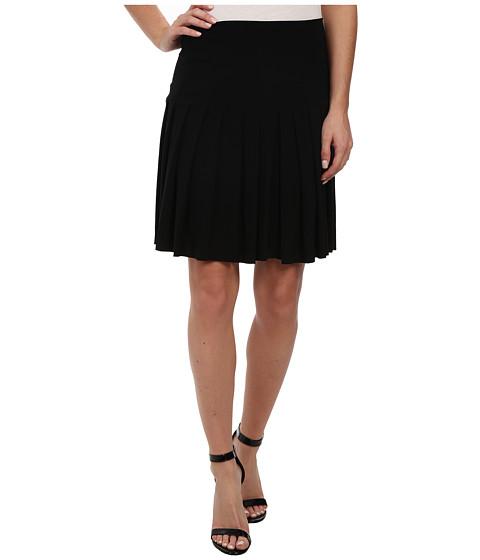 KAMALIKULTURE by Norma Kamali - Schoolgirl Mini (Black) Women's Skirt