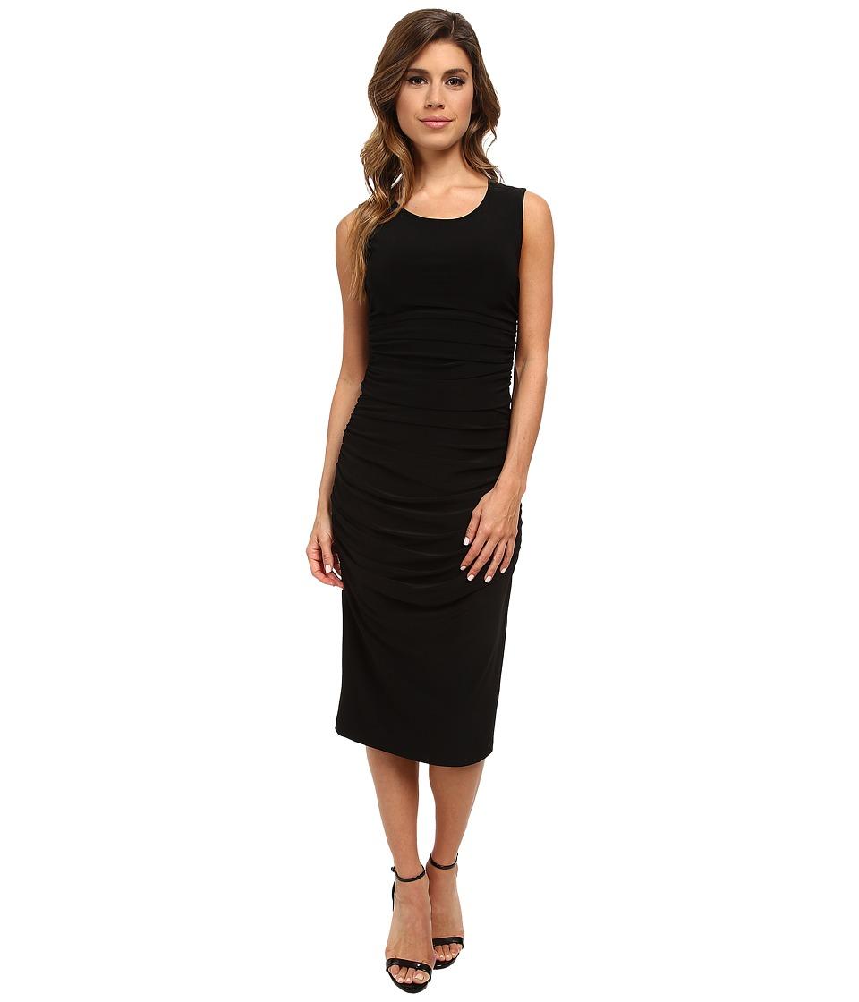KAMALIKULTURE by Norma Kamali - Shirred Teaser (Black) Women's Dress