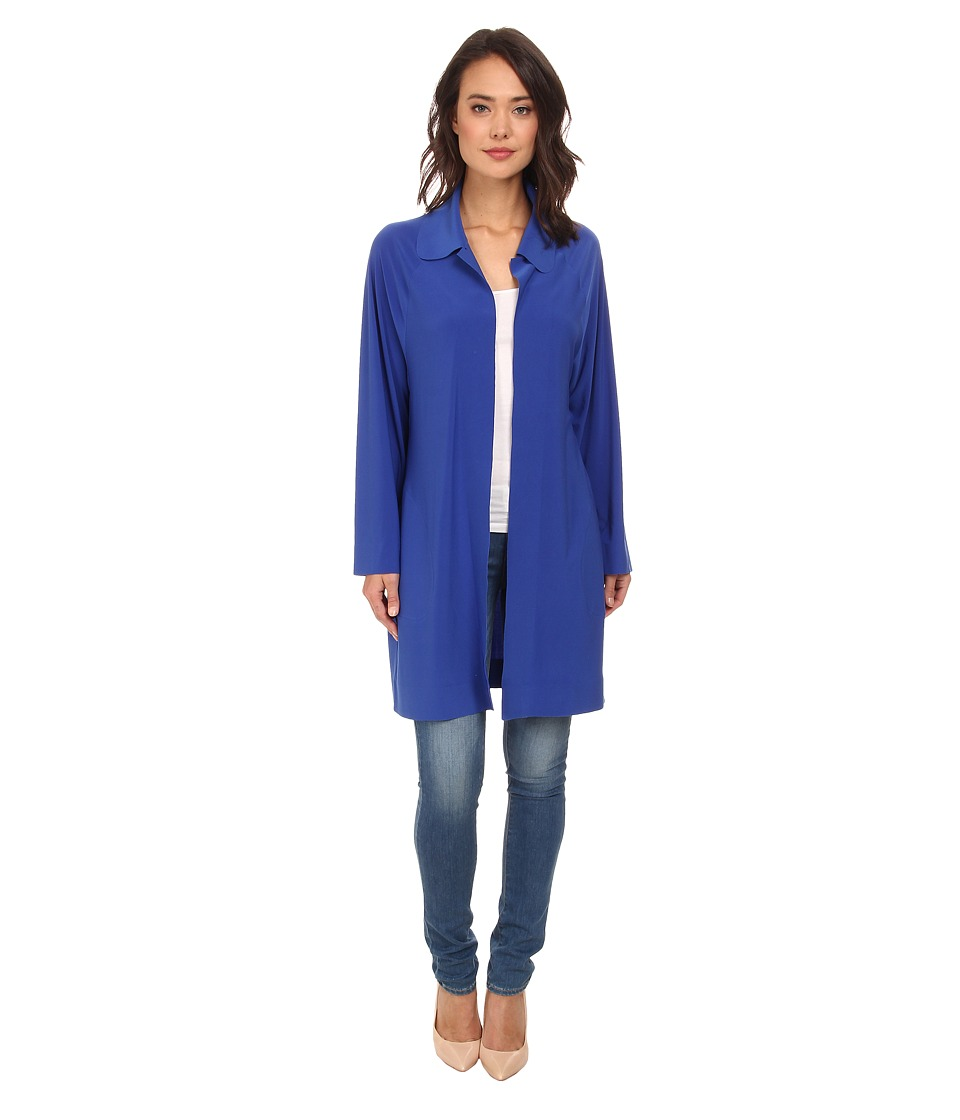KAMALIKULTURE by Norma Kamali - Trench (True Blue) Women's Coat