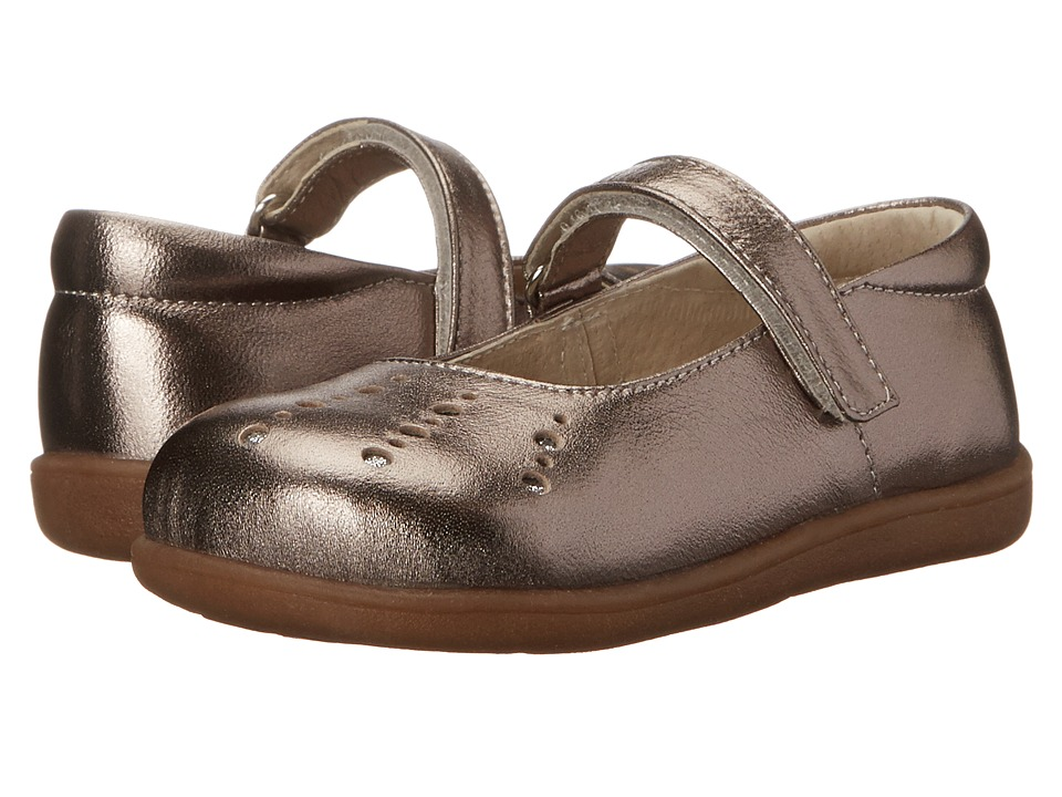 See Kai Run Kids - Marta (Toddler) (Pewter) Girls Shoes