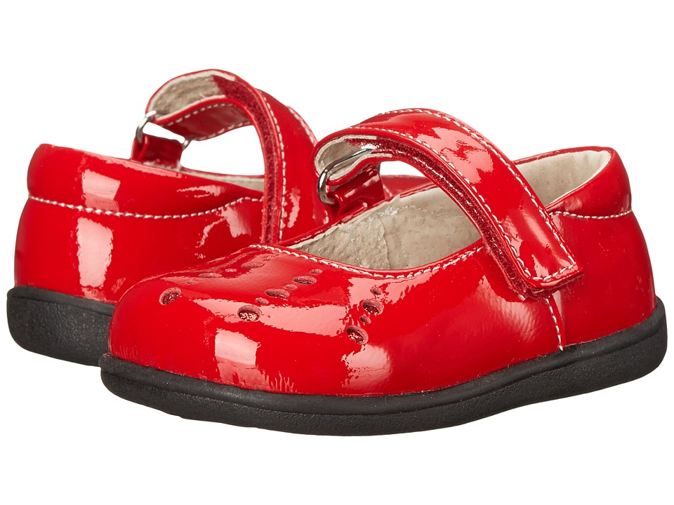 See Kai Run Kids - Marta (Toddler) (Red Patent) Girls Shoes