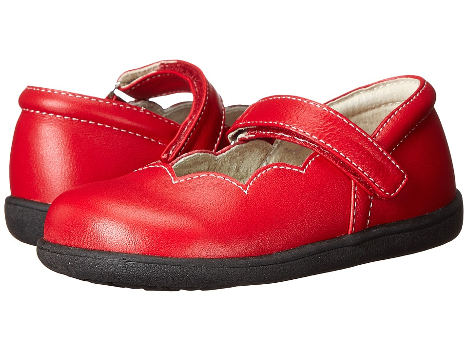 See Kai Run Kids - Savannah (Toddler) (Red) Girls Shoes