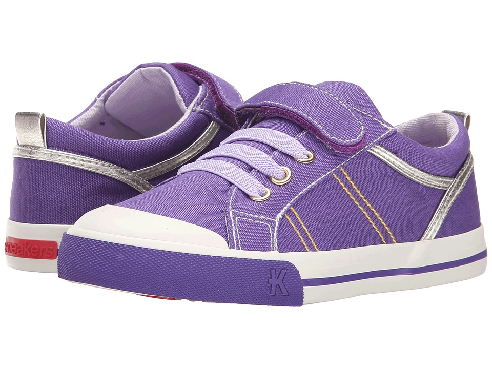 See Kai Run Kids - Callen (Toddler/Little Kid) (Purple) Girl's Shoes