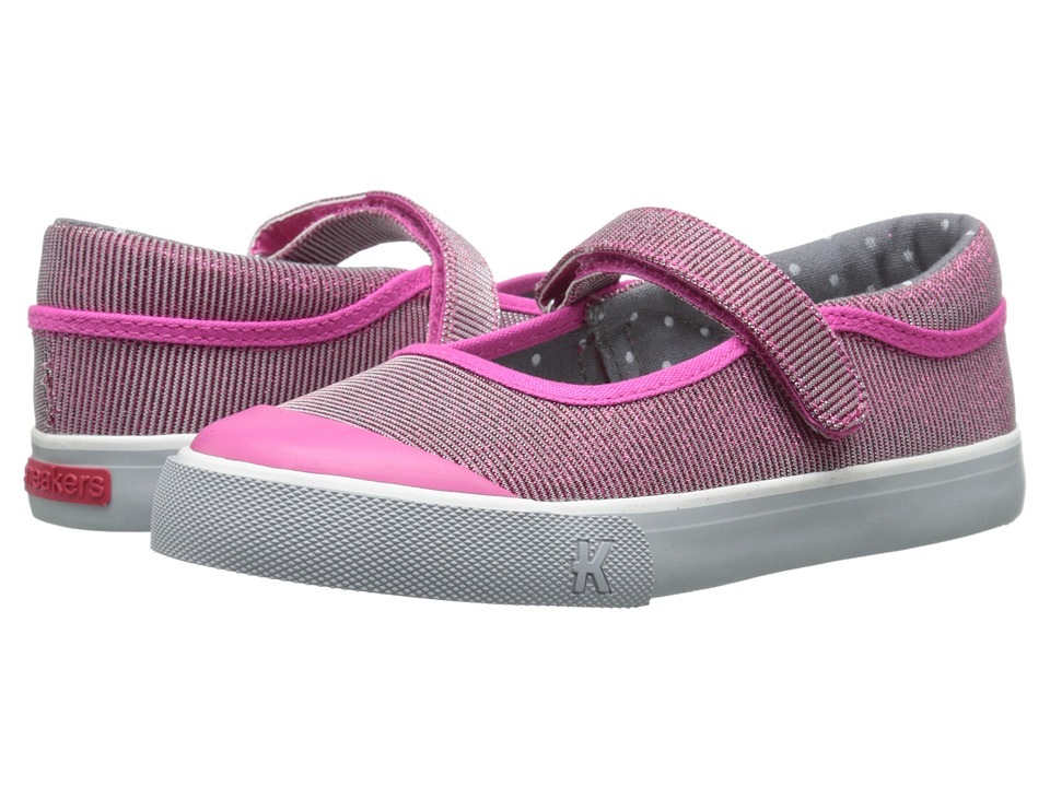See Kai Run Kids - Florence (Toddler/Little Kid) (Hot Pink 1) Girls Shoes