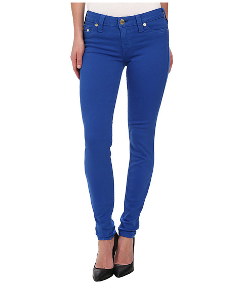 True Religion - Halle Super Skinny Leggings in Royal Blue (Royal Blue) Women