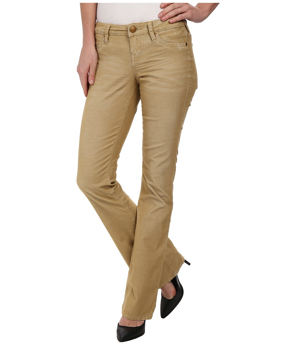 True Religion - Becky Phoenix Mid Rise Bootcut Jeans in Straw (Straw) Women's Jeans