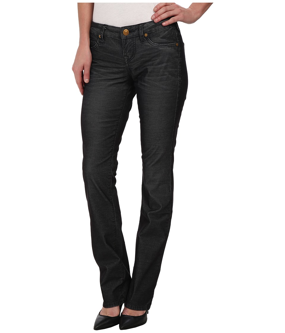 True Religion - Trisha Phoenix Straight Corduroy in Black (Black) Women