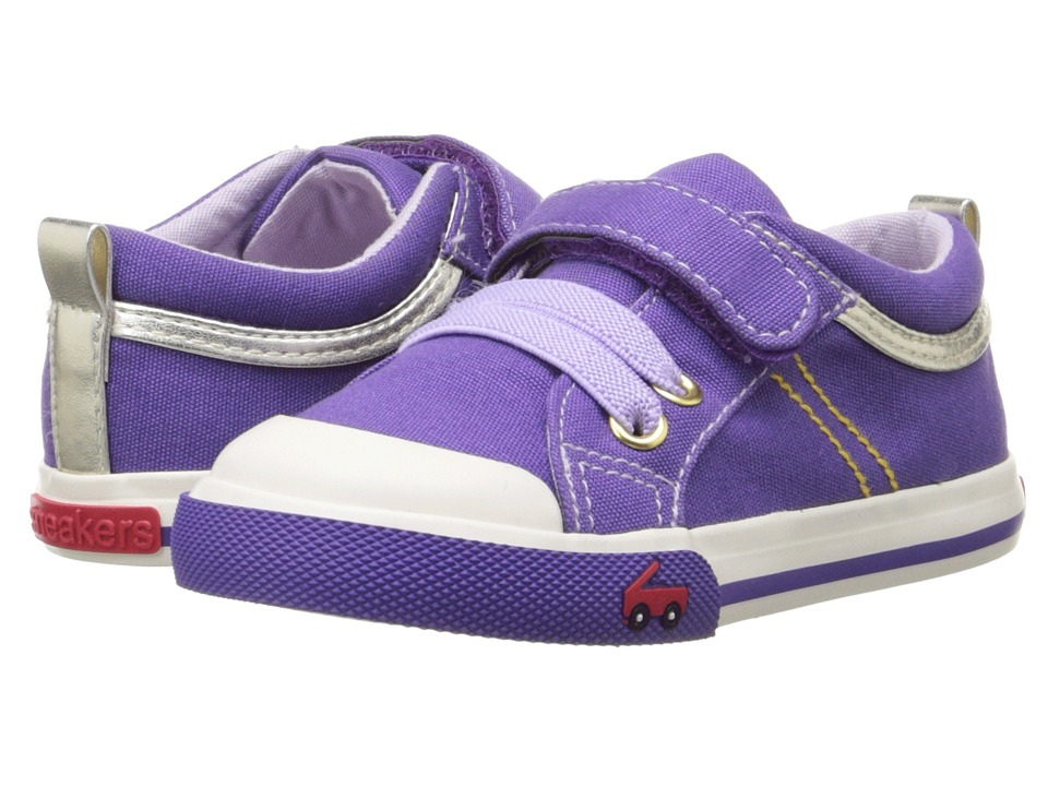 See Kai Run Kids - Cecilia (Toddler) (Purple) Girl's Shoes