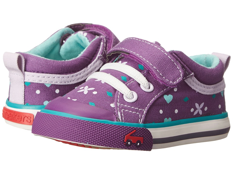 See Kai Run Kids - Kristin (Toddler) (Purple) Girl's Shoes