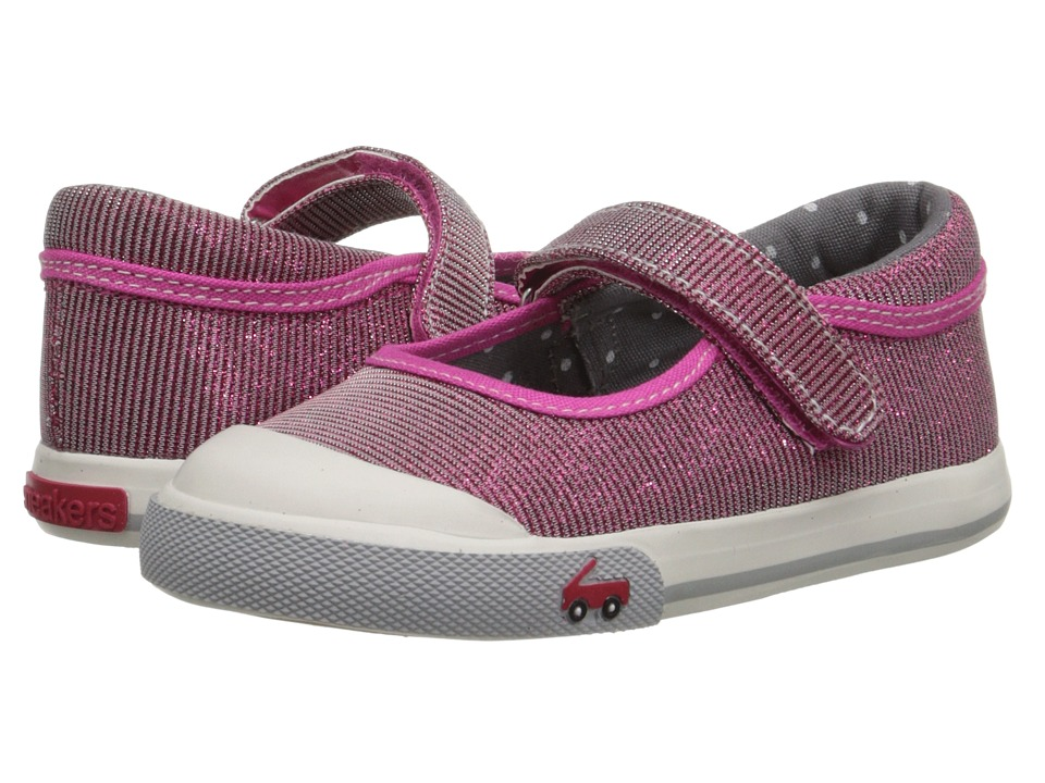 See Kai Run Kids - Marie (Toddler) (Hot Pink 1) Girls Shoes