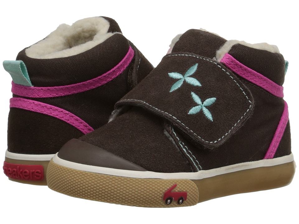 See Kai Run Kids - Kiki (Toddler) (Brown) Girls Shoes