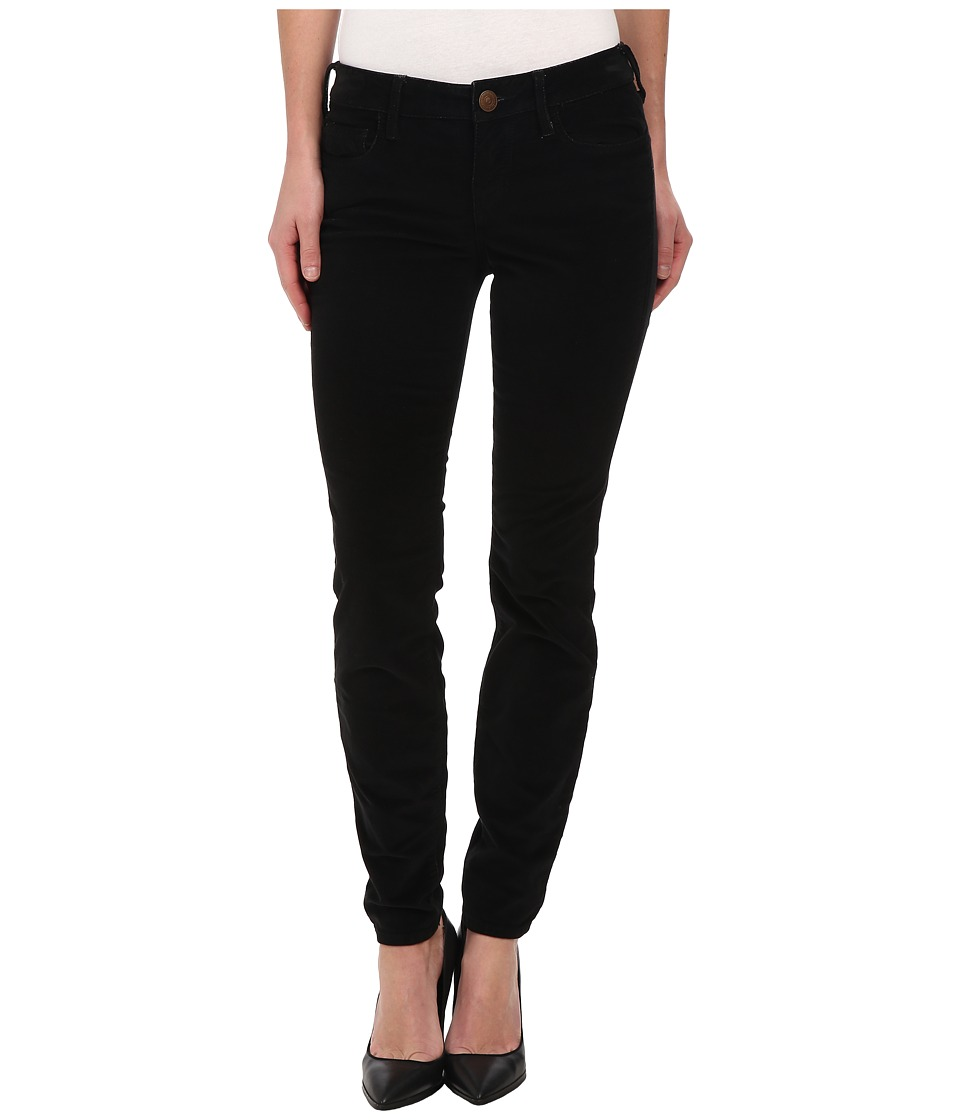 True Religion - Halle High Rise Skinny Lonestar in Black (Black) Women
