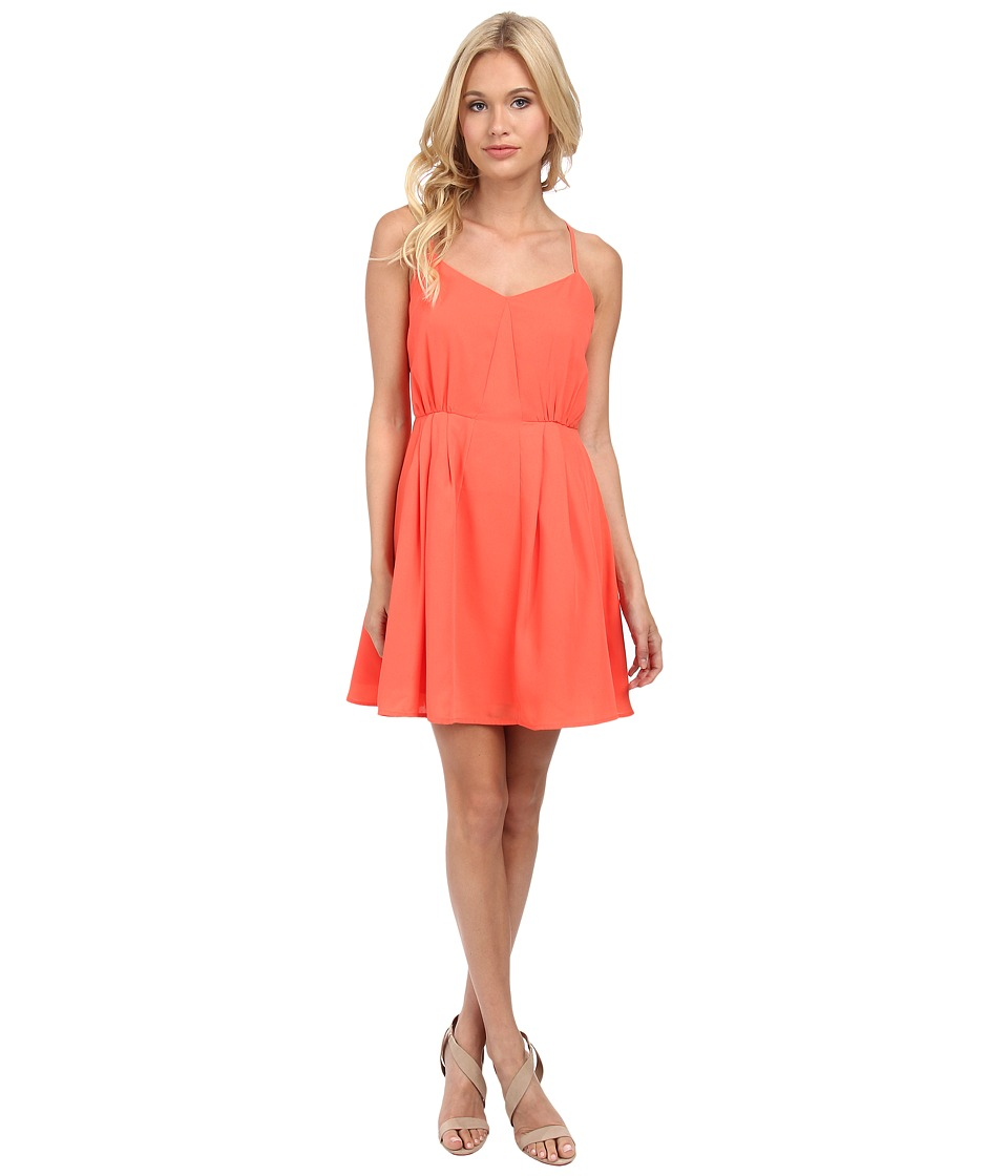 Jack by BB Dakota - Renrose CDC Dress (Hot Coral) Women's Dress
