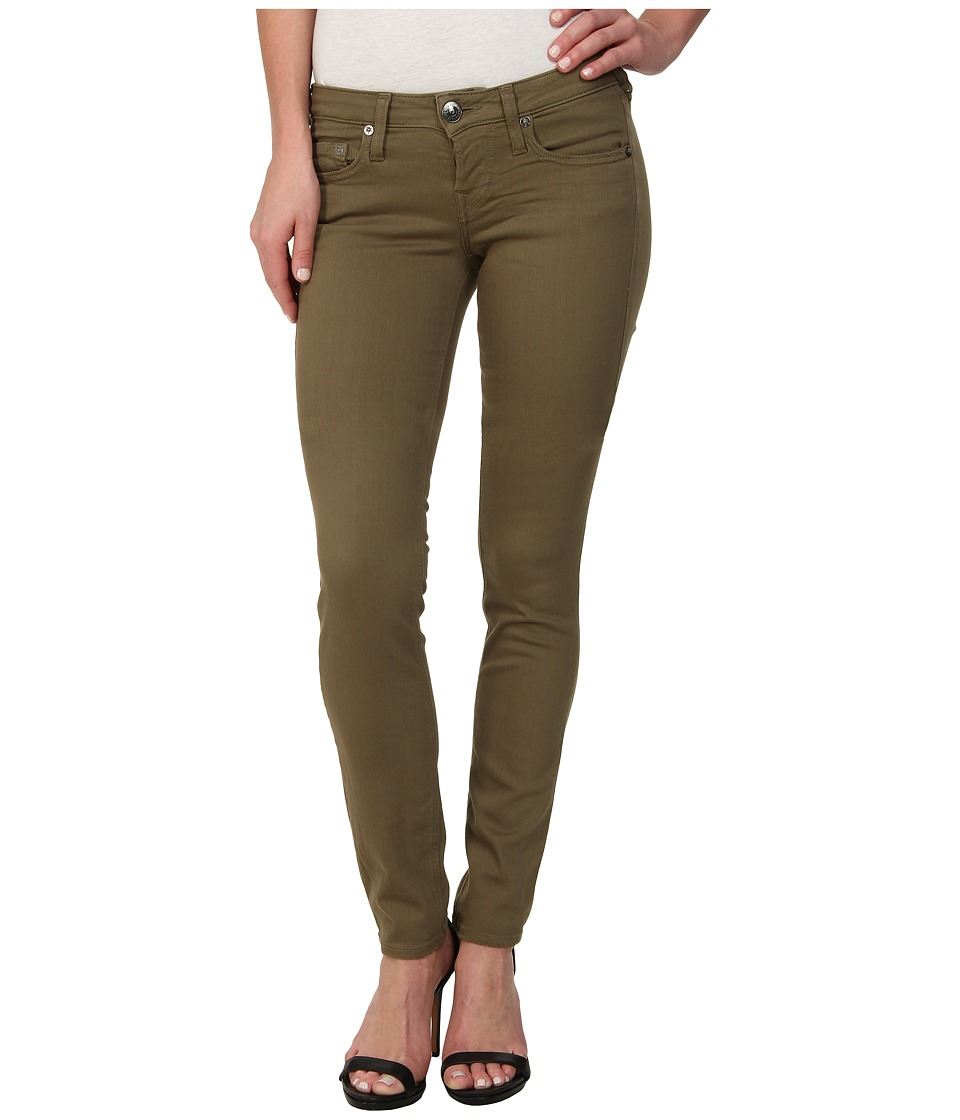 True Religion - Shannon Overdye 1971 Jeans in Olive (Olive) Women