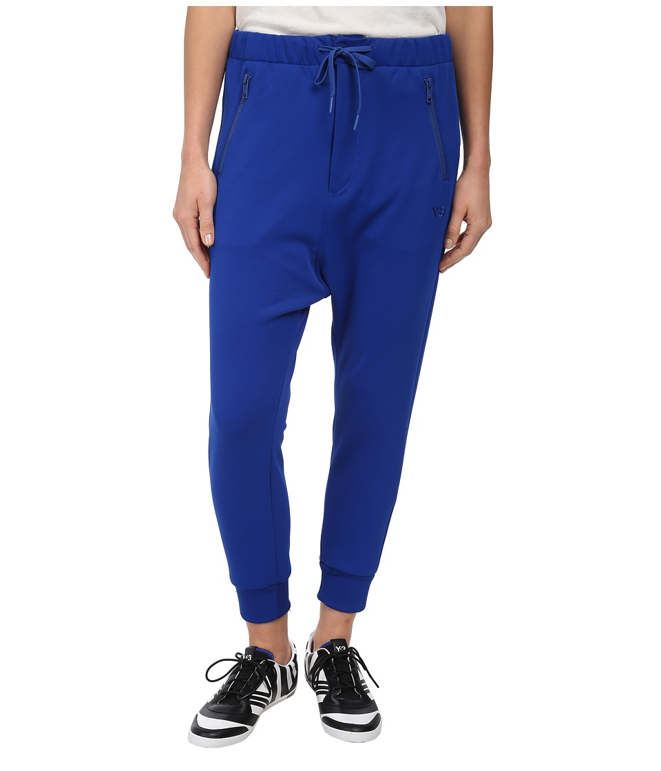 adidas Y-3 by Yohji Yamamoto - Track Cuff Pants (Collegiate Royal) Women's Casual Pants