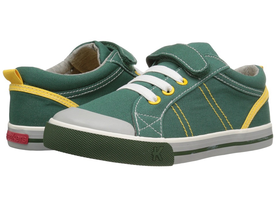 See Kai Run Kids - Tanner (Toddler/Little Kid) (Green) Boy's Shoes