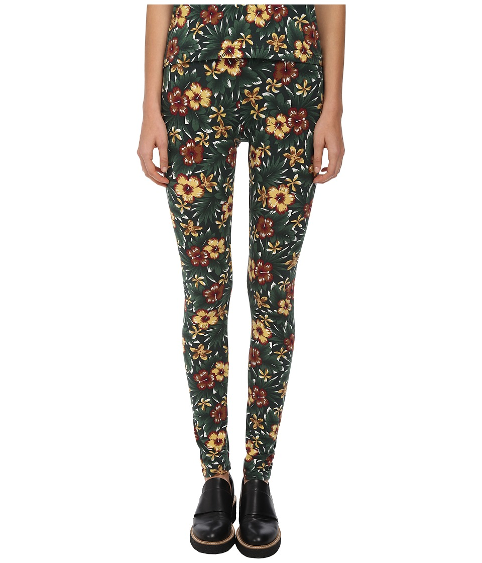 adidas Y-3 by Yohji Yamamoto - AOP Leggings (Flower 1) Women's Clothing