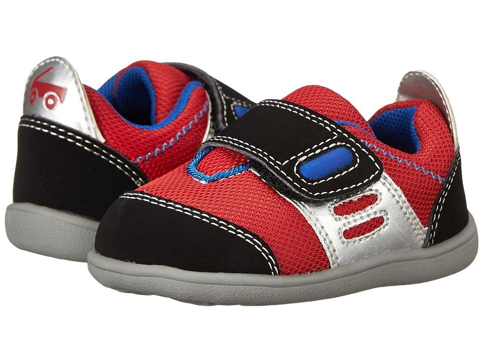 See Kai Run Kids - Stanley (Toddler) (Red) Boys Shoes